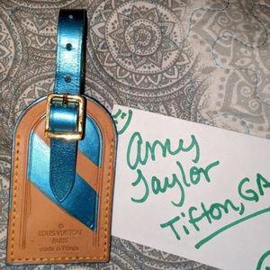 Louis Vuitton Large luggage tag